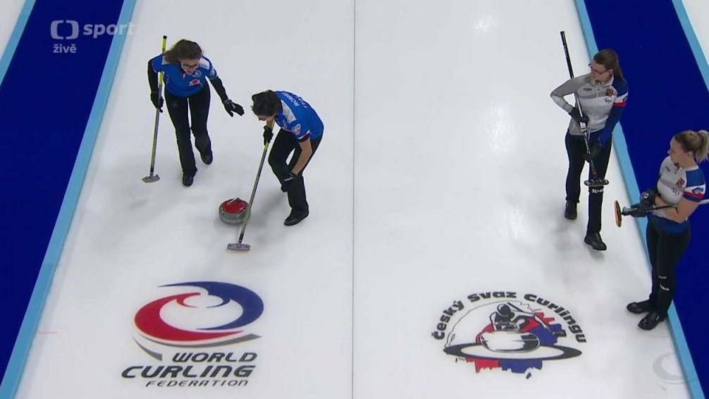 Olympijské kvalifikace v curlingu 2017: Itálie - Česko