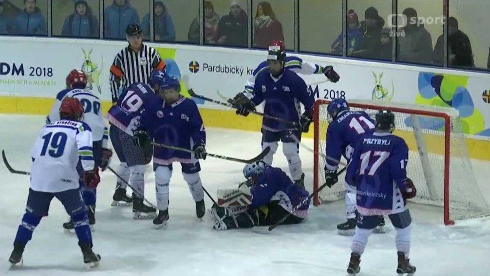 f6bd52836 Hry VIII. zimní olympiády dětí a mládeže 2018: Hokej — Česká televize