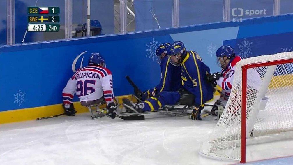XII. zimní paralympijské hry 2018 Pchjongčchang: Česko - Švédsko