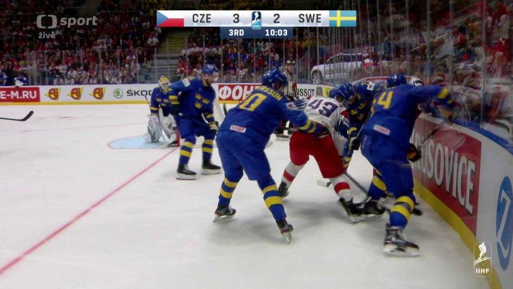 5f582b597 MS v ledním hokeji 2019 Slovensko: Česko - Švédsko — Česká televize