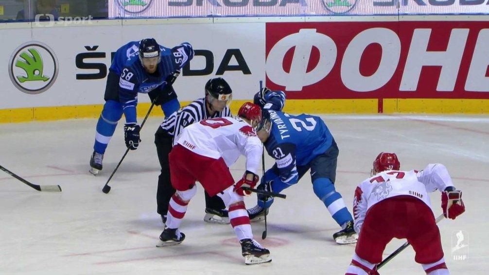 ab0463ac9d896 MS v ledním hokeji 2019 Slovensko: Finsko - Dánsko — Česká televize