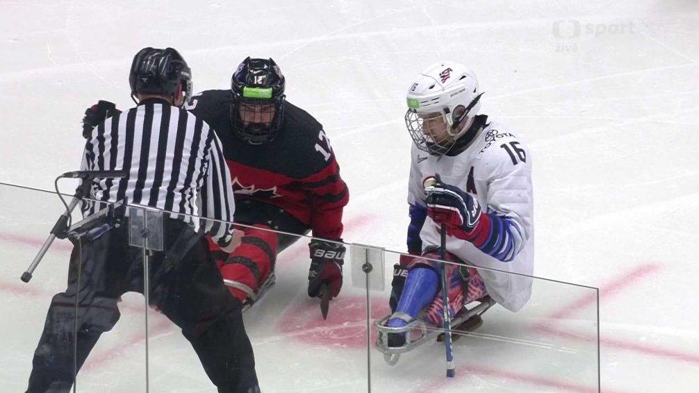 377d17ee24ac3 MS v para hokeji 2019 Česko: USA - Kanada — Česká televize