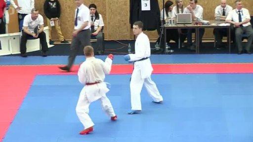Magazín bojových sportů: Grand Prix v karate Hradec Králové 2013