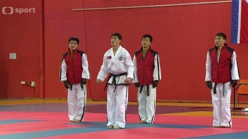 Magazín bojových sportů: Exhibice taekwondo ITF v Česku