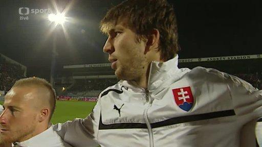 Fotbal: Česko - Slovensko
