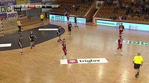 Házená: HCB OKD Karviná - HC Dukla Praha