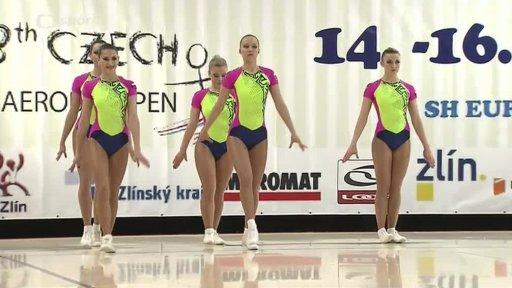 Gymnastika: Czech Aerobic Open Cup 2014, Zlín