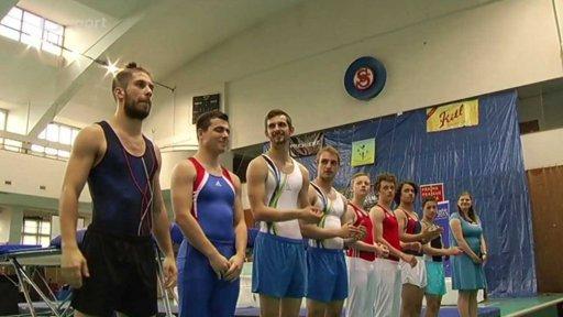Gymnastika: ČP ve skocích na trampolíně 2015 Praha