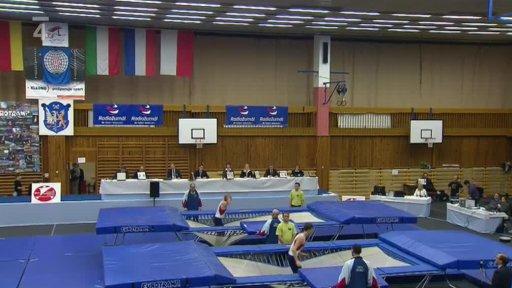Gymnastika: Mezinárodní závod ve skocích na trampolíně Kladno