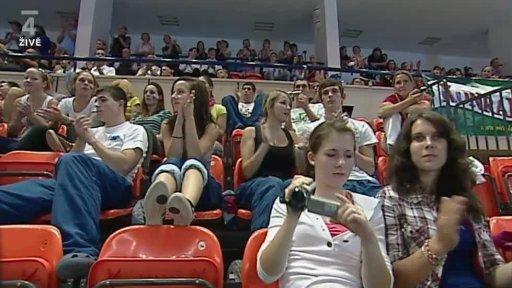 Gymnastika: Světový pohár ve skocích na trampolíně 2011 Česko