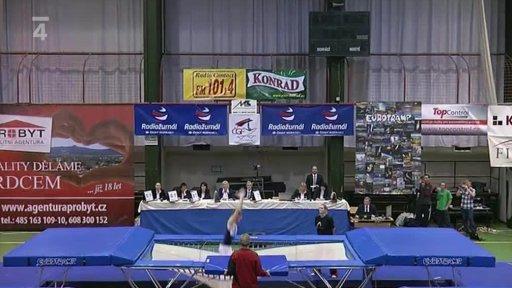 Gymnastika: Český pohár ve skocích na trampolíně Liberec