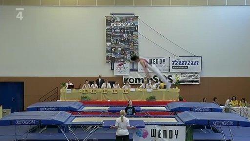 Gymnastika: Český pohár ve skocích na trampolíně Litoměřice