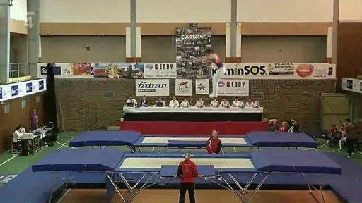 Gymnastika: Český pohár ve skocích na trampolíně Odolena Voda