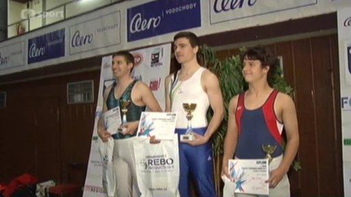 Gymnastika: Český pohár ve skocích na trampolíně 2013