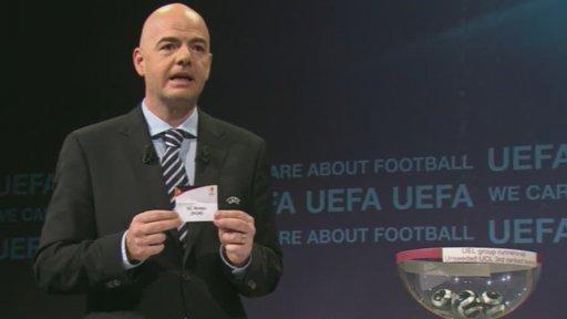 Evropska Liga Gallery: Evropská Liga UEFA: Losování Evropské Ligy UEFA