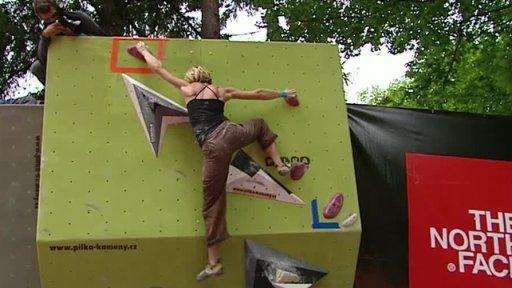 Sportovní lezení: M ČR v boulderingu 2012