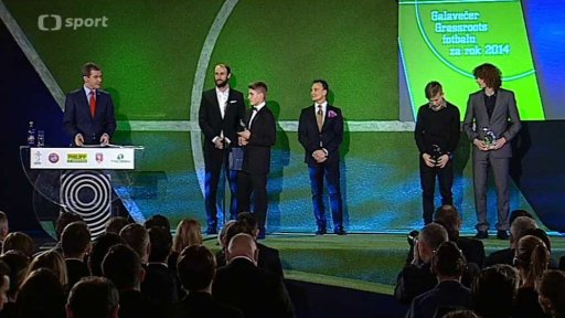 Galavečer Grassroots fotbalu za rok 2014