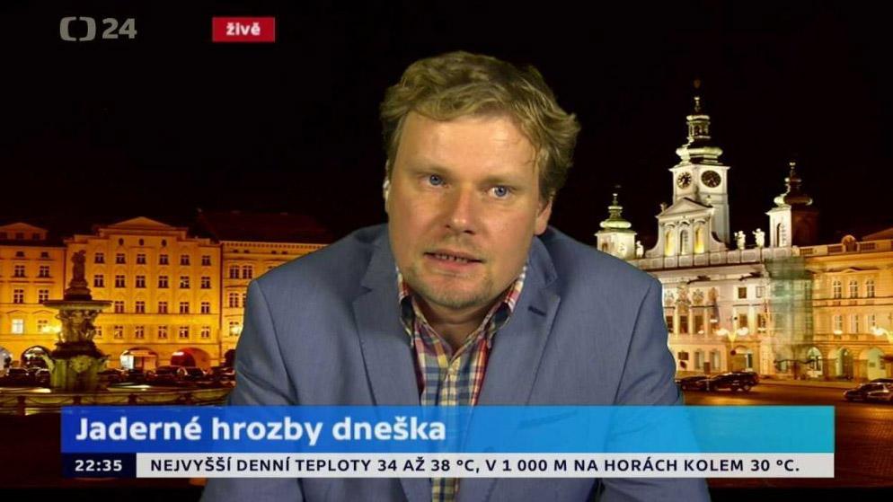 Výsledek obrázku pro olser foto A ještě slova Vlastislava Břízy, experta na jaderné zbraně:
