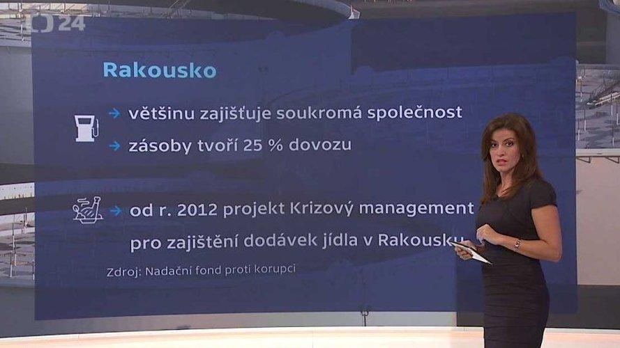 90' ČT24: Česko a jeho hmotné rezervy