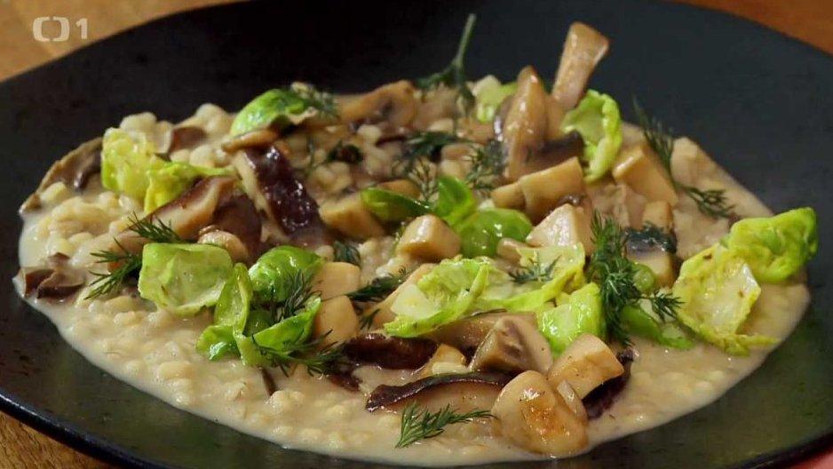 Italské rizoto s houbami
