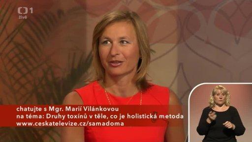 Druhy toxinů v těle - holistická metoda - Mgr. Marie Vilánková (chat) - 1. část