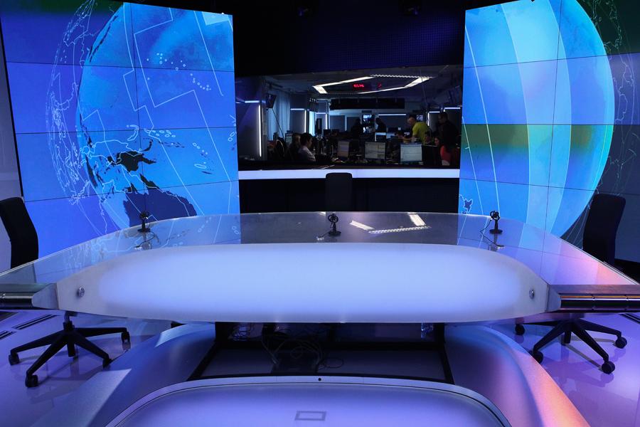 Česká televize nové studio