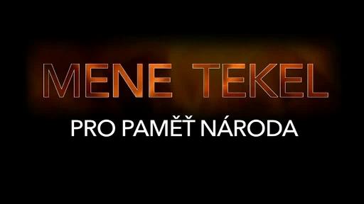 """Mene Tekel 2018: Rekonstrukce politického procesu  """"Kučera a spol."""""""