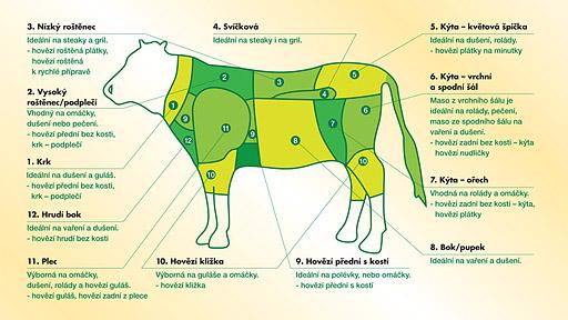 Členění hovězího masa