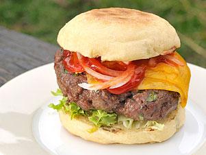 Hovězí burger recept