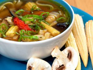 Exotická zeleninová polévka