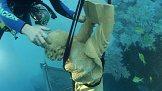 Pot�p�n� sochy sv. Jana Nepomuck�ho