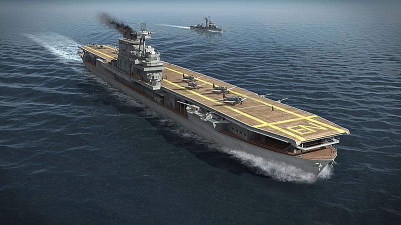 Letadlov Lo Enterprise Kamikaze Esk Televize