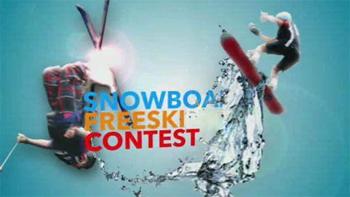 Snowboard Freeski Contest: Sony Snowboard and Freeski Contest 2012