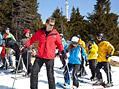 Miroslav Etzler si natáčení na lyžích užil