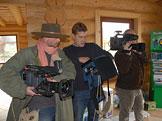 Příprava na natáčení