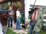 Natáčení vizitky kandidáta
