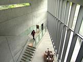 Studio designu 21-21 Sight, Tokio � Minato, Tadao Ando, 2007