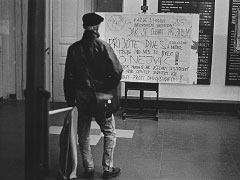 Praha, Pedagogická fakulta; 20. 11. 89. © Jan Šilpoch