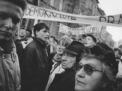 Praha, Albertov; 17. 11. 89. © Jan Šilpoch