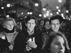 Praha, Národní třída; 19. 11. 89. © Jan Šilpoch