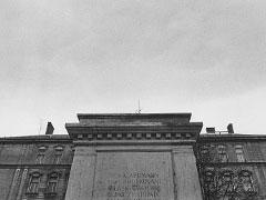 Olomouc; prosinec 89 (Stalin a Lenin III.). © Jan Šilpoch