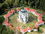 Santiniho poutní kostel na Zelené hoře