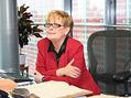 PhDr. Kate�ina Smutn�, �editelka Moravsk�ho zemsk�ho archivu Brno