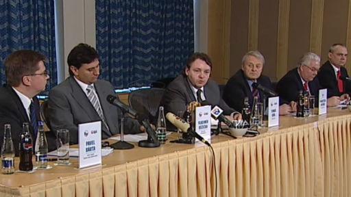 Tisková konference - nominace hokejistů na ZOH 2010