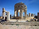 Leptis Magna (foto: Franzfoto, wikimedia.org)