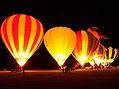 Austrálie z balónu
