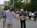 V berlínských ulicích s historikem Jaroslavem Čvančarou