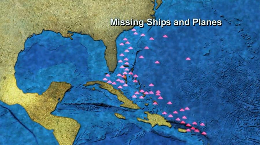 Výsledek obrázku pro zmizení v bermudském trojúhelníku