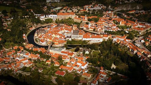 Národní klenoty: Český Krumlov - od řeky k nebesům