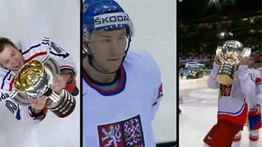 Rozloučení s hokejisty na Staroměstském náměstí